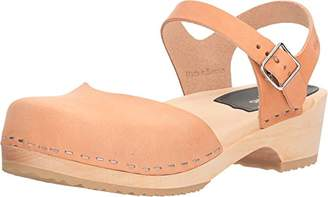 Swedish Hasbeens Women's Covered Low Flat Sandal