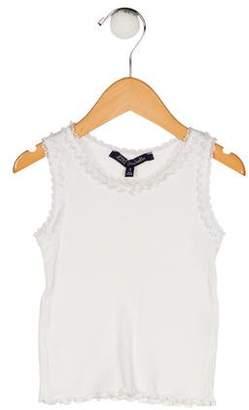 Lili Gaufrette Girls' Knit Sleeveless Top