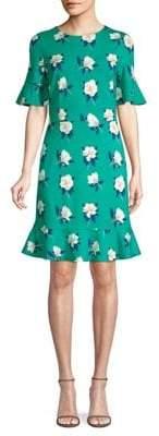Draper James Magnolia Print Tulip Dress