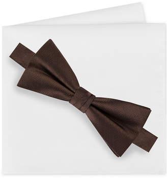 Calvin Klein Men Metallic Bow Tie & Pocket Square Sets