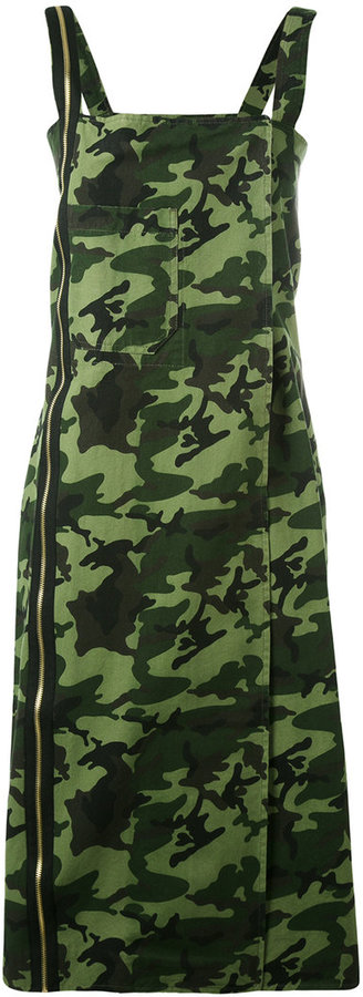 Each X Other military camouflage dress