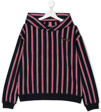 Tommy Hilfiger Junior TEEN striped hoodie