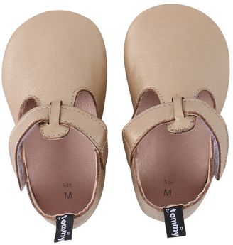Baby Girl Tommy Tickle T-Bar Crib Shoes $22 thestylecure.com