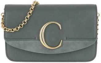 Chloé C Clutch With Cahin Cloudy Blue