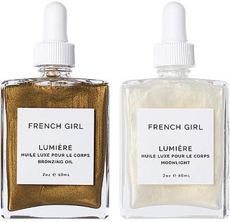 French Girl Organics Lumiere Body Oil Duo