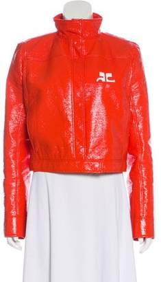 Courreges Long Sleeve Crop Jacket
