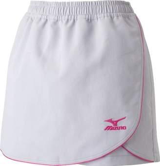 Mizuno (ミズノ) - (ミズノ) MIZUNO ラケットスポーツ ウィメンズ スカート付きショートパンツ 62JB4202 04 シルバーグレー×ピンク XO