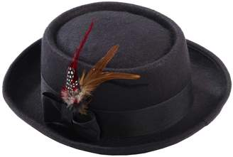 Forum Novelties Inc. Forum Men's Novelty Deluxe Pork Pie Hat