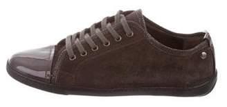 AGL Suede Low-Top Sneakers