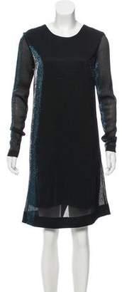 Kenzo Long Sleeve Knee-Length Dress