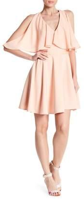 Jay Godfrey JAY X JAYGODFREY Allegra Cold Shoulder Mini Dress