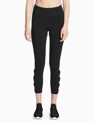 Calvin Klein high waist lattice leggings