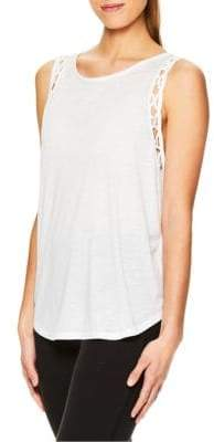 Gaiam Eden Cut-Out Tank Top