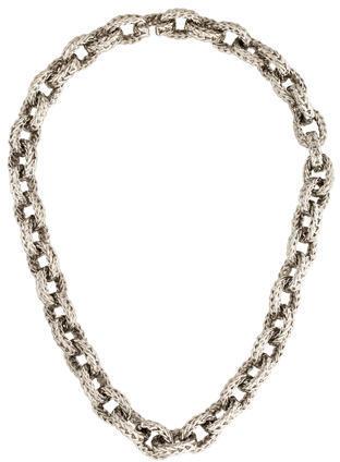 Balenciaga Balenciaga Curb Chain Collar Necklace