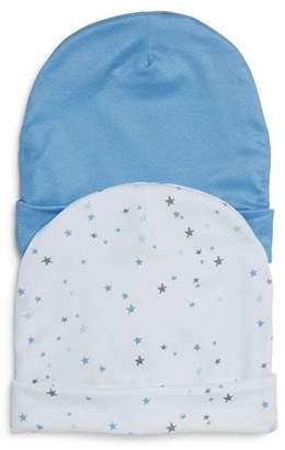 Aden and Anais Boys' 2-Piece Tiny Stars Beanie Set - Baby