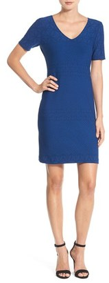 Women's Julia Jordan 'Rio' Jacquard Knit Sheath Dress $148 thestylecure.com