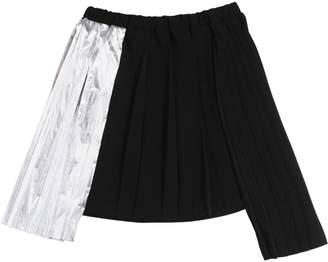 N°21 Crepe Pleated Skirt W/ Lurex