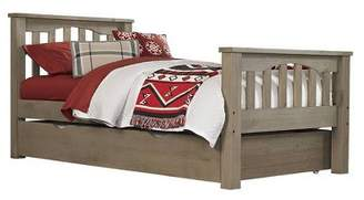 Hillsdale Furniture Highlands Harper Panel Bed with Trundle
