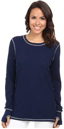 Allen Allen L/S Thumbhole Tee Thermal Crew Women's Long Sleeve Pullover