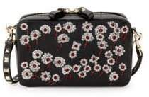 Valentino Studded & Embellished Leather Box Crossbody