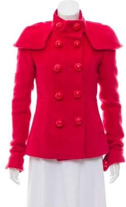 By Malene Birger Fur & Wool Blend Jacket