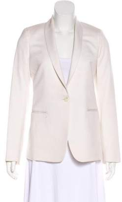 The Row Shawl-Lapel Long Sleeve Blazer