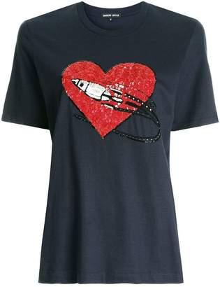 Markus Lupfer rocket heart T-shirt