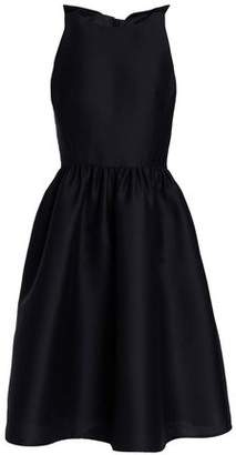 Kate Spade Cutout Bow-embellished Woven Dress