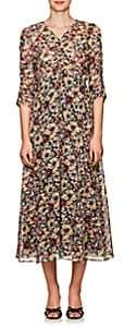 Masscob Women's Mina Floral Cotton Midi-Dress