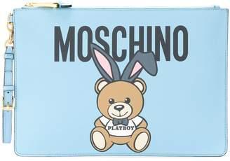 Moschino Playboy teddy clutch