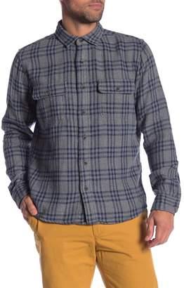 Tailor Vintage Plaid Reversible Casual Fit Shirt