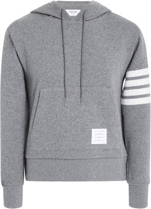 Thom Browne Cashmere And Cotton-Blend Hoodie