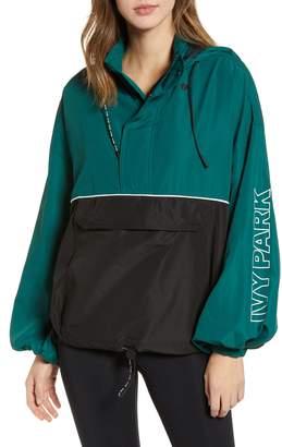 Ivy Park R) Colorblock Half Zip Pullover
