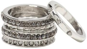 Sparkle stack ring