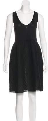 Balenciaga Knit Knee-Length Dress