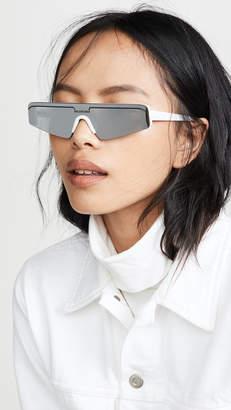 Balenciaga Ski Straight Sunglasses