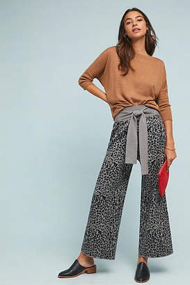 Moth Leopard Sweater Pants