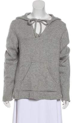 Lucien Pellat-Finet Hooded Cashmere Sweater