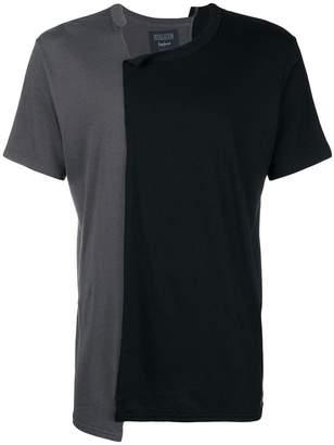 Yohji Yamamoto two-tone T-shirt