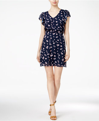 Maison Jules Printed V-Neck Dress, Only at Macy's $79.50 thestylecure.com