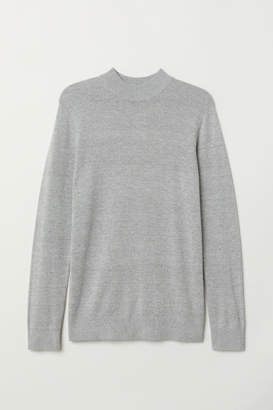 H&M Mock Turtleneck Sweater - Gray