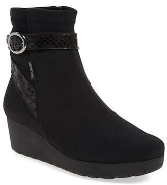 Mephisto 'Tyba' Waterproof Wedge Bootie (Women)
