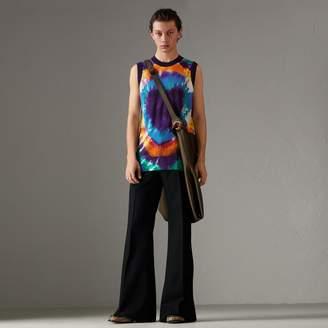 Burberry Tie-dye Print Cashmere Vest