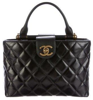 Chanel 2016 Paris-Rome Handle Bag $2,595 thestylecure.com