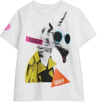 Burberry Unicorn Print Cotton T-shirt