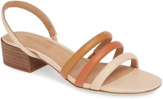 Madewell Addie Strappy Leather Sandal