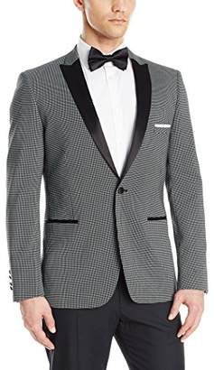 Paisley & Gray Men's Slim Fit Peak Lapel Tuxedo Dinner Jacket