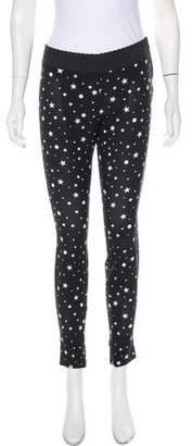 Dolce & Gabbana Silk Skinny Pants