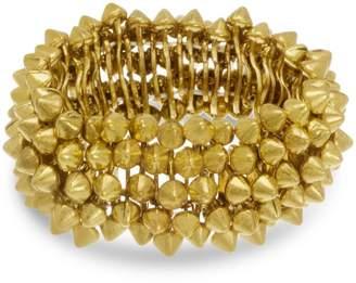 6th Borough Boutique Gold Spike Bracelet