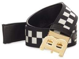 Bally Checkered Belt